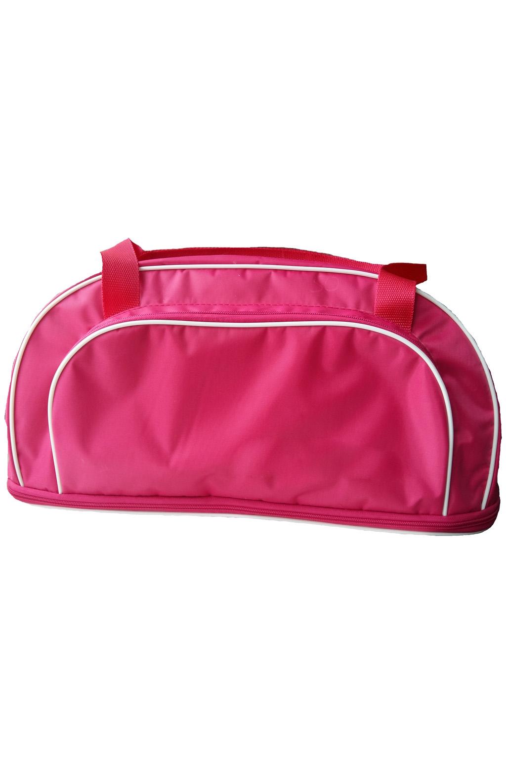 Дорожная сумкаДорожные<br>Удобная и вместительная дорожная сумка.  Размер: 47*22*21 см. Сумка с раздвижным дном+13см  Цвет: розовый<br><br>По материалу: Тканевые<br>По размеру: Средние<br>По рисунку: Однотонные<br>По силуэту стенок: Трапециевидные<br>По степени жесткости: Мягкие<br>Ручки: Короткие<br>По сезону: Всесезон<br>Размер : UNI<br>Материал: Полиэстер<br>Количество в наличии: 3