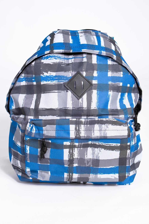 РюкзакРюкзаки<br>Модный рюкзак для активного отдыха или занятий спортом из качественных ярких материалов. Одно основное отделение на двухсторонней молнии. Снаружи передний карман на молнии, удобные лямки и ручка.  Размеры: 31,5*40*13 см  Цвет: серый, голубой, белый<br><br>По материалу: Тканевые<br>По рисунку: Цветные,С принтом<br>По способу ношения: На плечо<br>По степени жесткости: Мягкие<br>По типу застежки: С застежкой молнией<br>По элементам: Карман на молнии<br>Ручки: Плечевые,Широкие<br>Отделения: 1 отделение<br>По стилю: Молодежный стиль,Повседневный стиль,Спортивный стиль<br>По форме: Трапециевидные<br>Размер : UNI<br>Материал: Полиэстер<br>Количество в наличии: 2
