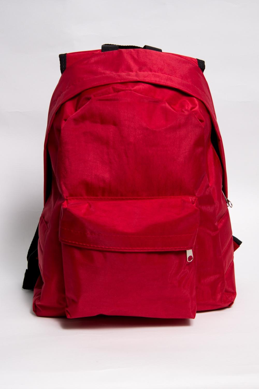 РанецРюкзаки<br>Модный ранец для активного отдыха или занятий спортом из качественных ярких материалов. Одно основное отделение на двухсторонней молнии. Снаружи передний карман на молнии, удобные лямки и ручка.  Размеры: 31,5*40*13 см  Цвет: красный<br><br>По материалу: Тканевые<br>По рисунку: Однотонные<br>По силуэту стенок: Трапециевидные<br>По способу ношения: На плечо<br>По степени жесткости: Мягкие<br>По типу застежки: С застежкой молнией<br>По элементам: Карман на молнии<br>Ручки: Плечевые,Широкие<br>Отделения: 1 отделение<br>По стилю: Молодежный стиль,Повседневный стиль,Спортивный стиль<br>Размер : UNI<br>Материал: Полиэстер<br>Количество в наличии: 3