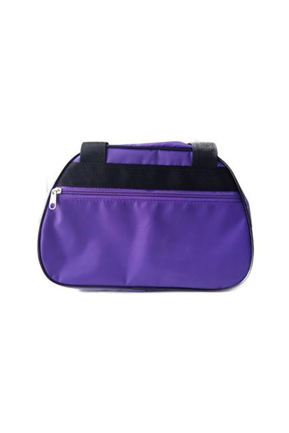 СумкаСпортивные<br>Удобная и вместительная спортивная сумка.  Размер: 30*12*20 см.  Цвет: фиолетовый<br><br>По материалу: Тканевые<br>По размеру: Средние<br>По рисунку: Однотонные<br>По степени жесткости: Мягкие<br>По стилю: Повседневный стиль,Спортивный стиль<br>По типу застежки: С застежкой молнией<br>По форме: Трапециевидные<br>Ручки: Длинные,Короткие<br>По сезону: Всесезон<br>Размер : UNI<br>Материал: Полиэстер<br>Количество в наличии: 1