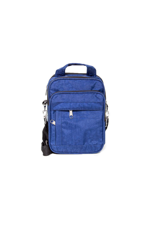 БарсеткаБарсетки<br>Удобная и вместительная мужская сумка.  Размеры: 18*12*26 см  Цвет: синий<br><br>Размер : UNI<br>Материал: Полиэстер<br>Количество в наличии: 1