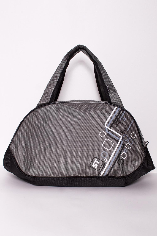 СумкаСпортивные<br>Удобная спортивная сумка с двумя ручками. Модель с застежкой на молнию.В изделии использованы цвета: серый и др.Габариты, см: 27х49х18<br><br>По способу ношения: В руках<br>По степени жесткости: Мягкие<br>Ручки: Короткие<br>Материал: Тканевые<br>Рисунок: С принтом,Цветные<br>Форма: Полукруглые<br>Застежка: С застежкой молнией<br>Размер : UNI<br>Материал: Полиэстер<br>Количество в наличии: 2