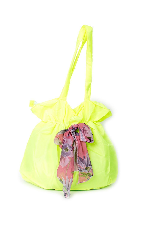 СумкаСумки-шоппинг<br>Удобная и вместительная женская сумка.  Размеры: 30*37*12 см.  Цвет: лимонный<br><br>По материалу: Тканевые<br>По размеру: Средние<br>По рисунку: Однотонные<br>По силуэту стенок: Прямоугольные<br>По способу ношения: В руках,На плечо<br>По степени жесткости: Мягкие<br>Ручки: Длинные<br>По сезону: Всесезон<br>Размер : UNI<br>Материал: Полиэстер<br>Количество в наличии: 3
