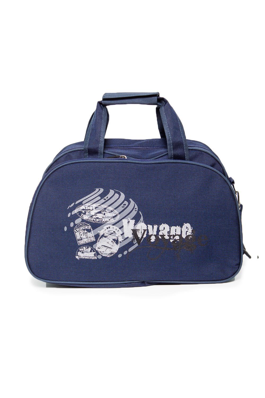 СаквояжДорожные<br>Вместительная сумка из качественных ярких материалов. Одно основное отделение. Удобные ручки. В комплекте длинный ремень.  Размеры: 45*24*28 см  Цвет: синий<br><br>По сезону: Всесезон<br>Размер : UNI<br>Материал: Полиэстер<br>Количество в наличии: 1