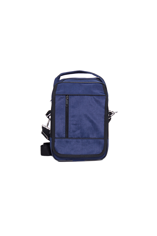 БарсеткаБарсетки<br>Удобная и вместительная мужская сумка.  Размеры: 19*12*28 см  Цвет: синий, черный<br><br>Размер : UNI<br>Материал: Полиэстер<br>Количество в наличии: 1