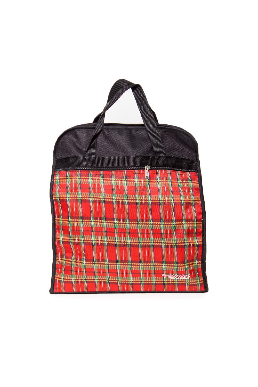 СумкаДорожные<br>Классическая дорожная сумка с застежкой на молнию. Удобные короткие ручки.  Размеры: 35*12*38 см  Цвет: черный, красный и др.<br><br>По материалу: Тканевые<br>По рисунку: Цветные,С принтом,В клетку<br>По степени жесткости: Мягкие<br>По типу застежки: С застежкой молнией<br>Ручки: Короткие<br>По форме: Прямоугольные<br>Размер : UNI<br>Материал: Полиэстер<br>Количество в наличии: 1
