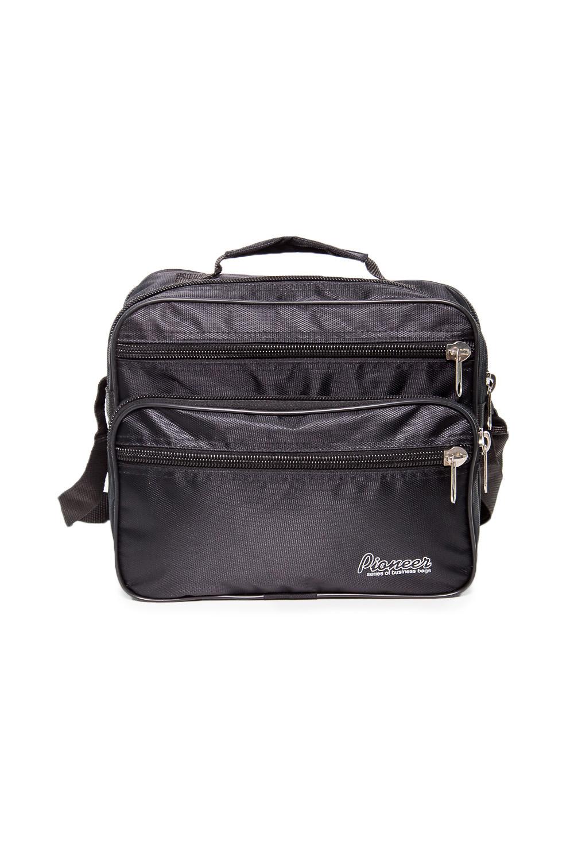 СумкаДеловые<br>Удобная и вместительная мужская сумка.  Размеры: 29*17*23 см  Цвет: черный<br><br>Размер : UNI<br>Материал: Полиэстер<br>Количество в наличии: 2