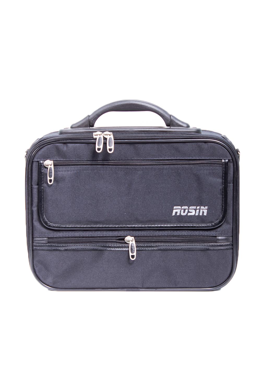 СумкаДеловые<br>Удобная и вместительная мужская сумка. Сумка на пластиковом каркасе.  Размеры: 37*9*27 см  Цвет: черный<br><br>Размер : UNI<br>Материал: Полиэстер<br>Количество в наличии: 1