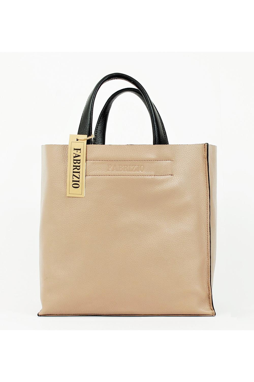 4fb0cd073e69 Объемная женская сумка без застежки из натуральной кожи. Отличный выбор для  повседневного гардероба.