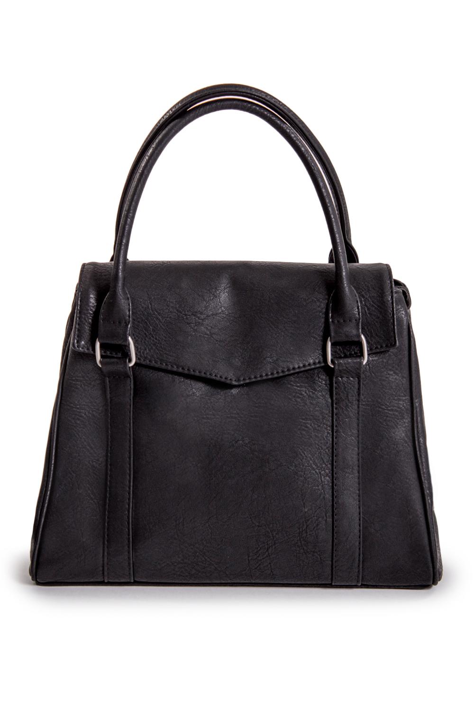 СумкаКлассические<br>Женские сумки бренда DINESSI - это стильные аксессуары, которые по достоинству оценят представительницы прекрасного пола.  Классическая женская сумка с клапаном. Модель имеет 3 ручки и задний карман на молнии.   Цвет: черный.  Размеры: Высота - 25 ± 1 см Длина по дну - 32 ± 1 см Глубина - 16 ± 1 см<br><br>По материалу: Искусственная кожа<br>По размеру: Средние<br>По рисунку: Однотонные<br>По способу ношения: В руках,На запастье,На плечо<br>По степени жесткости: Мягкие<br>По типу застежки: С застежкой молнией,С клапаном<br>По элементам: Карман на молнии,Карман под телефон<br>Ручки: Короткие<br>По форме: Квадратные,Прямоугольные<br>Размер : UNI<br>Материал: Искусственная кожа<br>Количество в наличии: 1