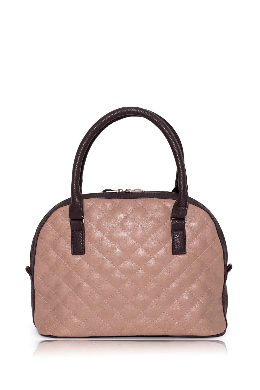 СумкаКлассические<br>Женские сумки бренда DINESSI - это стильные аксессуары, которые по достоинству оценят представительницы прекрасного пола.  Сумка с застежкой на молнию, двумя короткими ручками и длинной регулируемой лямкой. Внутри два накладных кармана и карман на молнии.   В изделии использованы цвета: бежевый, коричневый.  Подклад может отличаться от представленного на фото.  Размеры: Длина - 30,5 ± 1 см Высота - 23 ± 1 см Глубина - 11,5 ± 1 см Длина ручки - 44 ± 1 см<br><br>По материалу: Искусственная кожа<br>По размеру: Средние<br>По рисунку: Фактурный рисунок,Цветные<br>По способу ношения: В руках,На запастье,На плечо<br>По степени жесткости: Мягкие<br>По типу застежки: С двухсторонней молнией,С застежкой молнией<br>По форме: Полукруглые<br>По элементам: Карман на молнии,Карман под телефон,Отделка строчкой,С декором,С ремнями<br>Ручки: Длинные,Короткие,Регулируемые<br>Размер : UNI<br>Материал: Искусственная кожа<br>Количество в наличии: 1