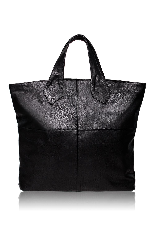 Сумка - шоппингСумки-шоппинг<br>Женские сумки бренда Ardenna - это продукция высшего класса, доступная каждой представительнице прекрасного пола. С нашими сумками Вы сможете всегда оставаться на пике модных тенденций  Сумка шопер с застежкой молнией. Внутри два отдела, карман под телефон, планшет и карман на молнии.  Цвет: черный.  Размеры: 37*37*10,5 ± 1 см<br><br>Отделения: 2 отделения<br>По материалу: Искусственная кожа<br>По размеру: Крупные<br>По рисунку: Однотонные<br>По силуэту стенок: Квадратные<br>По способу ношения: В руках,На плечо<br>По степени жесткости: Мягкие<br>По типу застежки: С застежкой молнией<br>По элементам: Карман на молнии,Карман под телефон,Отделка строчкой<br>Ручки: Короткие<br>Размер : UNI<br>Материал: Искусственная кожа<br>Количество в наличии: 1