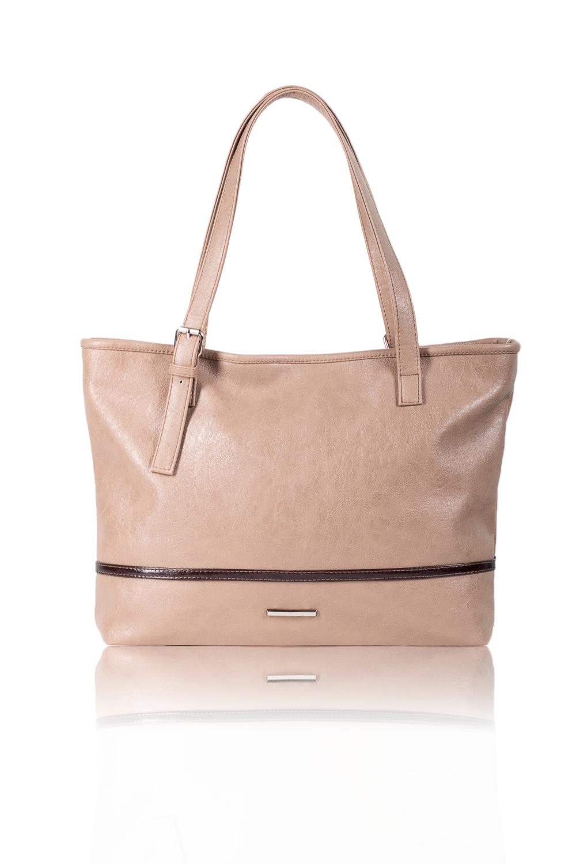СумкаСумки-шоппинг<br>Женские сумки бренда DINESSI - это стильные аксессуары, которые по достоинству оценят представительницы прекрасного пола.  Сумка-шоппинг с застежкой на молнию, двумя короткими ручками с регулировкой пряжкой. На задней части сумки карман на молнии. Внутри два накладных кармана и карман на молнии.   Цвет: бежевый.  Размеры: Высота - 29 ± 1 см Длина - 36 ± 1 см Ширина - 10 ± 1 см Длина лямки - 54 ± 1 см<br><br>Отделения: 1 отделение<br>По материалу: Искусственная кожа<br>По размеру: Крупные<br>По рисунку: Однотонные<br>По способу ношения: В руках,На плечо<br>По степени жесткости: Мягкие<br>По типу застежки: С застежкой молнией<br>По элементам: Карман на молнии,Карман под телефон,С декором,С отделочной фурнитурой<br>Ручки: Короткие<br>По форме: Прямоугольные<br>Размер : UNI<br>Материал: Искусственная кожа<br>Количество в наличии: 1