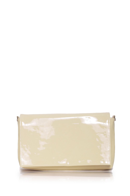 КлатчиКлатчи<br>Женские сумки бренда DINESSI - это стильные аксессуары, которые по достоинству оценят представительницы прекрасного пола.  Клатч с клапаном и застежкой на молнию. Внутри один карман на молнии.  Цвет: бежевый.  Размеры: Высота - 15,5 ± 1 см Длина - 27 ± 1 см Глубина - 5,5 ± 1 см<br><br>Отделения: 1 отделение<br>По материалу: Искусственная кожа,Лакированная кожа<br>По образу: Город,Клуб<br>По размеру: Средние<br>По рисунку: Однотонные<br>По силуэту стенок: Прямоугольные<br>По способу ношения: В руках,На плечо,Через плечо<br>По степени жесткости: Мягкие<br>По типу застежки: На магните,С застежкой молнией<br>По форме: Конверт<br>По элементам: Карман на молнии,Карман под телефон,С карабином,С ремнями<br>Ручки: Длинные<br>Размер : UNI<br>Материал: Искусственная кожа<br>Количество в наличии: 1