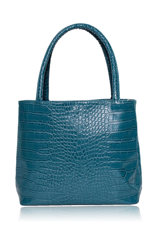 СумкаКлассические<br>Женские сумки бренда DINESSI - это стильные аксессуары, которые по достоинству оценят представительницы прекрасного пола.  Сумка с застежкой на магнит, двумя короткими ручками и длинной, регулируемой лямкой. Внутри три отделения, два отделения на молнии, два накладных кармана и карман на молнии.   Цвет: сине-голубой.  Размеры: Высота - 25,5 ± 1 см Длина - 30 ± 1 см Ширина - 8 ± 1 см Длина ручек - 47 ± 1 см<br><br>Отделения: 3 отделения<br>По материалу: Искусственная кожа<br>По размеру: Средние<br>По рисунку: Однотонные,Рептилия,Фактурный рисунок<br>По способу ношения: В руках,На запастье,На плечо,Через плечо<br>По степени жесткости: Мягкие<br>По типу застежки: На магните,С застежкой молнией<br>По форме: Квадратные<br>По элементам: Карман на молнии,Карман под телефон,С ремнями<br>Ручки: Длинные,Короткие,Регулируемые<br>Размер : UNI<br>Материал: Искусственная кожа<br>Количество в наличии: 1