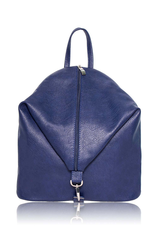 РюкзакРюкзаки<br>Женские сумки бренда DINESSI - это стильные аксессуары, которые по достоинству оценят представительницы прекрасного пола.  Рюкзак с застежкой на молнию и карабином. Регулируемые лямки и круглая ручка. Внутри два накладных кармана.  Цвет: синий.  Ширина - 11 ± 1 см Высота - 29 ± 1 см Длина - 29 ± 1 см<br><br>По материалу: Искусственная кожа<br>По размеру: Средние<br>По рисунку: Однотонные<br>По способу ношения: В руках,На плечо,Через плечо<br>По степени жесткости: Мягкие<br>По типу застежки: С застежкой молнией<br>По элементам: Карман на молнии,Карман под телефон<br>Ручки: Плечевые<br>Размер : UNI<br>Материал: Искусственная кожа<br>Количество в наличии: 1