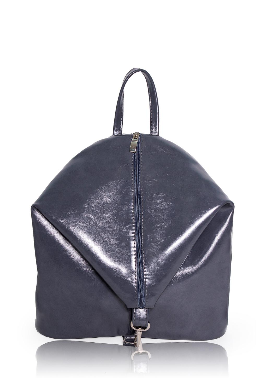 РюкзакРюкзаки<br>Женские сумки бренда DINESSI - это стильные аксессуары, которые по достоинству оценят представительницы прекрасного пола.  Рюкзак с застежкой на молнию и карабином. Регулируемые лямки и круглая ручка. Внутри два накладных кармана.  Цвет: серый.  Ширина - 11 ± 1 см Высота - 29 ± 1 см Длина - 29 ± 1 см<br><br>По материалу: Искусственная кожа<br>По размеру: Средние<br>По рисунку: Однотонные<br>По способу ношения: В руках,На плечо,Через плечо<br>По степени жесткости: Мягкие<br>По типу застежки: С застежкой молнией<br>По элементам: Карман на молнии,Карман под телефон<br>Ручки: Плечевые<br>Размер : UNI<br>Материал: Искусственная кожа<br>Количество в наличии: 1