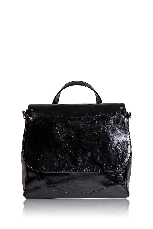 СумкаДеловые<br>Женские сумки бренда DINESSI - это стильные аксессуары, которые по достоинству оценят представительницы прекрасного пола.  Сумка с застежкой на молнию и клапаном с магнитом. Одна короткая ручка и длинная отстегивающаяся лямка. На задней части сумки накладной карман. Внутри два накладных кармана и карман на молнии.  Цвет: черный.  Длина - 28,5 ± 1 см Высота - 23,5 ± 1 см Ширина - 11,5 ± 1 см Длина ручки - 26 ± 1 см<br><br>По материалу: Искусственная кожа<br>По размеру: Средние<br>По рисунку: Однотонные<br>По способу ношения: В руках,На запастье,На плечо,Через плечо<br>По степени жесткости: Мягкие<br>По типу застежки: На магните,С застежкой молнией,С клапаном<br>По форме: Квадратные<br>По элементам: Карман на молнии,Карман под телефон,С ремнями<br>Ручки: Длинные,Короткие,Регулируемые<br>Размер : UNI<br>Материал: Искусственная кожа<br>Количество в наличии: 1