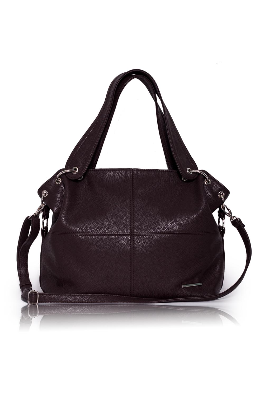СумкаСумки-шоппинг<br>Женские сумки бренда DINESSI - это стильные аксессуары, которые по достоинству оценят представительницы прекрасного пола.  Сумка мешок с застежкой на молнии. На задней части карман на молнии. Внутри два накладных кармана и карман на молнии.  Цвет: коричневый.  Размеры: Высота - 31 ± 1 см Длина - 44 ± 1 см Ширина - 12 ± 1 см<br><br>По материалу: Искусственная кожа<br>По размеру: Крупные<br>По рисунку: Однотонные<br>По способу ношения: В руках,На плечо<br>По степени жесткости: Мягкие<br>По типу застежки: С застежкой молнией<br>По элементам: Карман на молнии,Карман под телефон,С карабином,С ремнями<br>Ручки: Длинные,Короткие<br>По форме: Прямоугольные<br>Размер : UNI<br>Материал: Искусственная кожа<br>Количество в наличии: 1