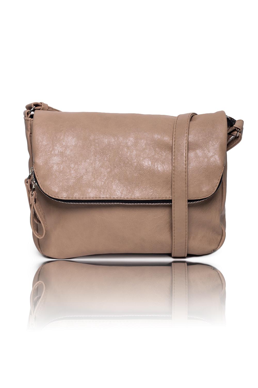 СумкаКлатчи<br>Женские сумки бренда DINESSI - это стильные аксессуары, которые по достоинству оценят представительницы прекрасного пола.  Сумка через плечо с двумя отделениями и с клапаном. В клапане карман с молнией. Внутри два накладных кармана и карман на молнии.   Цвет: бежевый.  Размеры: Высота - 23 ± 1 см Длина - 30 ± 1 см Глубина - 7,5 ± 1 см<br><br>Отделения: 2 отделения<br>По материалу: Искусственная кожа<br>По размеру: Маленькие,Средние<br>По рисунку: Однотонные<br>По способу ношения: В руках,На плечо,Через плечо<br>По степени жесткости: Мягкие<br>По типу застежки: С застежкой молнией<br>По элементам: Карман на молнии,Карман под телефон,С ремнями<br>Ручки: Длинные<br>По стилю: Повседневный стиль<br>По форме: Прямоугольные<br>Размер : UNI<br>Материал: Искусственная кожа<br>Количество в наличии: 1