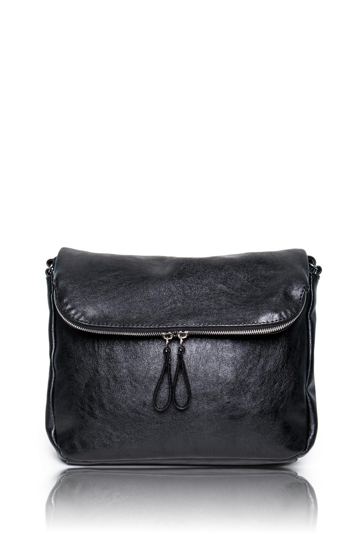 СумкаКлатчи<br>Женские сумки бренда DINESSI - это стильные аксессуары, которые по достоинству оценят представительницы прекрасного пола.  Сумка через плечо с двумя отделениями и с клапаном. В клапане карман с молнией. Внутри два накладных кармана и карман на молнии.   Цвет: черный  Размеры: Высота - 23 ± 1 см Длина - 30 ± 1 см Глубина - 7,5 ± 1 см<br><br>Отделения: 2 отделения<br>По материалу: Искусственная кожа<br>По размеру: Маленькие,Средние<br>По рисунку: Однотонные<br>По способу ношения: В руках,На плечо,Через плечо<br>По степени жесткости: Мягкие<br>По типу застежки: С застежкой молнией<br>По элементам: Карман на молнии,Карман под телефон,С ремнями<br>Ручки: Длинные<br>По стилю: Повседневный стиль<br>По форме: Прямоугольные<br>Размер : UNI<br>Материал: Искусственная кожа<br>Количество в наличии: 1