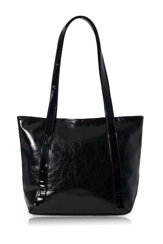 СумкаСумки-шоппинг<br>Женские сумки бренда DINESSI - это стильные аксессуары, которые по достоинству оценят представительницы прекрасного пола.  Сумка-шоппинг с застежкой на молнию. Внутри два накладных кармана и карман на молнии.   Цвет: черный.  Размеры: Высота - 31 ± 1 см Длина по дну - 31 ± 1 см Длина по верху - 40 ± 1 см Глубина - 11,5 ± 1 см<br><br>По материалу: Искусственная кожа<br>По размеру: Средние<br>По рисунку: Однотонные<br>По способу ношения: На плечо<br>По степени жесткости: Мягкие<br>По типу застежки: С застежкой молнией<br>По форме: Трапециевидные<br>По элементам: Карман на молнии,Карман под телефон<br>Ручки: Длинные<br>Размер : UNI<br>Материал: Искусственная кожа<br>Количество в наличии: 1