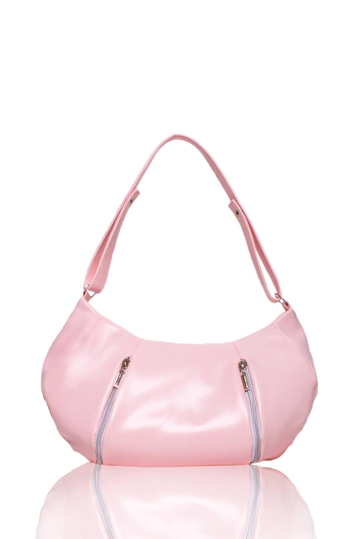СумкаСумки-шоппинг<br>Женские сумки бренда DINESSI - это стильные аксессуары, которые по достоинству оценят представительницы прекрасного пола.  Сумка мешок с застежкой на молнию. На передней части сумки два вертикальных кармана с молниями в швах. Одна короткая ручка и отстегивающаяся лямка. Внутри два накладных кармана и карман на молнии.   Цвет: розовый.  Размеры: Высота - 28 ± 1 см Ширина - 35 ± 1 см Глубина - 3 ± 1 см<br><br>По материалу: Искусственная кожа<br>По образу: Город<br>По размеру: Средние<br>По рисунку: Однотонные<br>По силуэту стенок: Полукруглые<br>По способу ношения: В руках,На плечо,Через плечо<br>По степени жесткости: Мягкие<br>По типу застежки: С застежкой молнией<br>По элементам: Карман на молнии,Карман под телефон<br>Ручки: Длинные<br>Размер : UNI<br>Материал: Искусственная кожа<br>Количество в наличии: 1