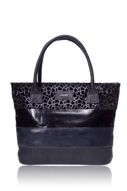 СумкаСумки-шоппинг<br>Женские сумки бренда DINESSI - это стильные аксессуары, которые по достоинству оценят представительницы прекрасного пола.  Сумка - шоппинг с застежкой на молнию и двумя ручками. На задней части сумки карман на молнии. Внутри два накладных кармана и карман на молнии.   Цвет: черный.  Размеры: Высота - 28,5 ± 1 см Длина - 39 ± 1 см Глубина - 11 ± 1 см<br><br>Отделения: 1 отделение<br>По материалу: Искусственная кожа<br>По размеру: Крупные<br>По рисунку: В полоску,Однотонные<br>По силуэту стенок: Прямоугольные<br>По способу ношения: В руках,На плечо<br>По степени жесткости: Мягкие<br>По типу застежки: С застежкой молнией<br>По элементам: Карман на молнии,Карман под телефон<br>Ручки: Короткие<br>Размер : UNI<br>Материал: Искусственная кожа<br>Количество в наличии: 1