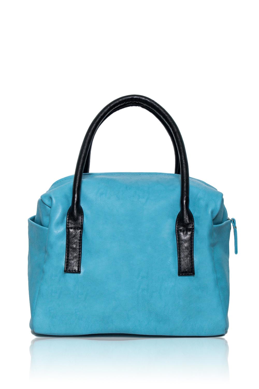 СумкаКлассические<br>Женские сумки бренда DINESSI - это стильные аксессуары, которые по достоинству оценят представительницы прекрасного пола.  Сумка кубической формы с одним отделением и застежкой на молнию. Две круглые ручки. По бокам два кармана на кнопках. Внутри два накладных кармана и карман на молнии.   Цвет: голубой.  Размеры: Длина - 31 ± 1 см Высота - 24 ± 1 см Ширина - 20 ± 1 см Длина ручки - 52 ± 1 см<br><br>По материалу: Искусственная кожа<br>По размеру: Крупные<br>По рисунку: Однотонные<br>По способу ношения: В руках,На запастье,На плечо<br>По степени жесткости: Мягкие<br>По типу застежки: С двухсторонней молнией<br>По элементам: Карман на молнии,Карман под телефон<br>Ручки: Короткие<br>По форме: Квадратные,Прямоугольные<br>Размер : UNI<br>Материал: Искусственная кожа<br>Количество в наличии: 1