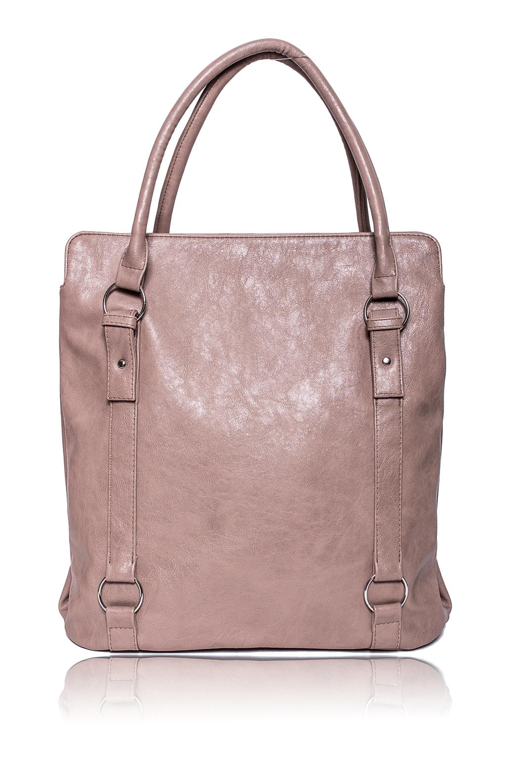 СумкаСумки-шоппинг<br>Женские сумки бренда DINESSI - это стильные аксессуары, которые по достоинству оценят представительницы прекрасного пола.  Сумка - шоппинг с застежкой на молнию, двумя короткими ручками и длинной, отстегивающейся, регулируемой лямкой. На задней части сумки карман на молнии. Внутри два отделения, два накладных кармана и карман на молнии.  Цвет: бежевый.  Размеры: Высота - 39 ± 1 см Длина - 36 ± 1 см Ширина - 11,5 ± 1 см Длина ручек - 56,5 ± 1 см<br><br>Отделения: 2 отделения<br>По материалу: Искусственная кожа<br>По размеру: Крупные<br>По рисунку: Однотонные<br>По способу ношения: В руках,На плечо<br>По степени жесткости: Мягкие<br>По типу застежки: С застежкой молнией<br>По элементам: Карман на молнии,Карман под телефон,С ремнями<br>Ручки: Длинные,Короткие<br>По форме: Прямоугольные<br>Размер : UNI<br>Материал: Искусственная кожа<br>Количество в наличии: 1