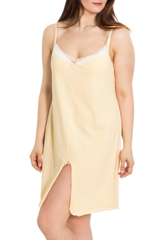 СорочкаНочные сорочки<br>Мягкая хлопковая сорочка без рукавов. Домашняя одежда, прежде всего, должна быть удобной, практичной и красивой. В сорочке Вы будете чувствовать себя комфортно, особенно, по вечерам после трудового дня.  Цвет: желтый, белый  Рост девушки-фотомодели 180 см.<br><br>Горловина: С- горловина<br>По рисунку: Однотонные<br>По силуэту: Свободные<br>По форме: Сорочки<br>По элементам: Без рукавов<br>По сезону: Всесезон<br>По длине: До колена<br>По материалу: Трикотаж,Хлопок<br>По стилю: Повседневный стиль<br>Размер : 52,54,56,58,60<br>Материал: Трикотаж<br>Количество в наличии: 9