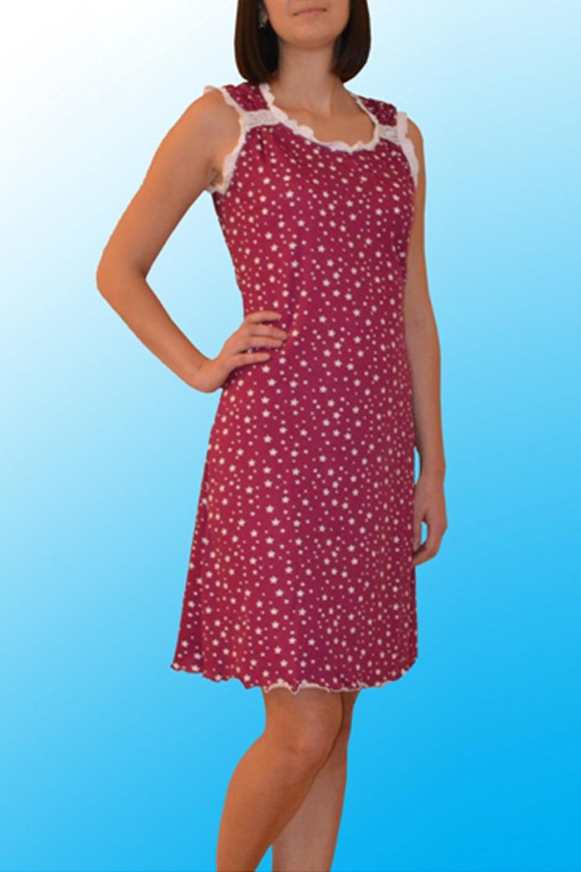 СорочкаНочные сорочки<br>Хлопковая ночная сорочка. Домашняя одежда, прежде всего, должна быть удобной, практичной и красивой. В нашей домашней одежде Вы будете чувствовать себя комфортно, особенно, по вечерам после трудового дня.  Цвет: розовый, белый  Ростовка изделия 170 см.<br><br>Горловина: С- горловина<br>По длине: Миди<br>По материалу: Хлопковые<br>По рисунку: С принтом (печатью),Цветные<br>По силуэту: Приталенные<br>По стилю: Повседневные,Романтические<br>По форме: Сорочки<br>По элементам: Без рукавов,С декором<br>По сезону: Всесезон<br>Размер : 44,46,48,50,52<br>Материал: Хлопок<br>Количество в наличии: 3