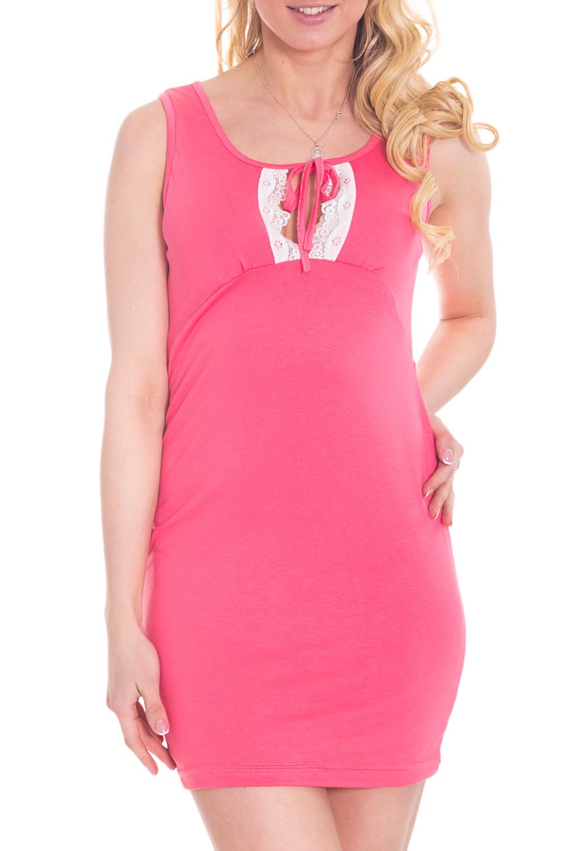 СорочкаНочные сорочки<br>Качественная ночная сорочка. Домашняя одежда, прежде всего, должна быть удобной, практичной и красивой. В наших изделиях Вы будете чувствовать себя комфортно, особенно, по вечерам после трудового дня.  Цвет: розовый, белый  Ростовка 158-164 см.  Рост девушки-фотомодели 170 см<br><br>Горловина: С- горловина<br>По материалу: Вискоза<br>По рисунку: Однотонные<br>По силуэту: Приталенные<br>По форме: Сорочки<br>По элементам: Без рукавов<br>По сезону: Всесезон<br>По длине: До колена<br>По стилю: Повседневный стиль<br>Размер : 46<br>Материал: Вискоза<br>Количество в наличии: 1