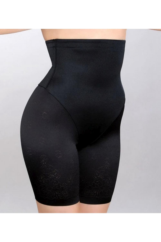 ПанталоныКорректирующее белье<br>Корректирующие панталоны-пояс сильной степени компрессии из тонкой шелковистой ткани. Дополнительная круговая вставка корректирует область талии, а роскошное цветочное кружево придает этой модели женственность. Благодаря уникальному крою, изделие незаметно под одеждой. Ластовица - 100% хлопок. Хорошо поддерживает нижнюю часть позвоночника.  Цвет: черный<br><br>По сезону: Всесезон<br>По материалу: Трикотаж<br>По форме: Панталоны<br>Размер : 44-46,46-48,48-50,50-52<br>Материал: Холодное масло<br>Количество в наличии: 4