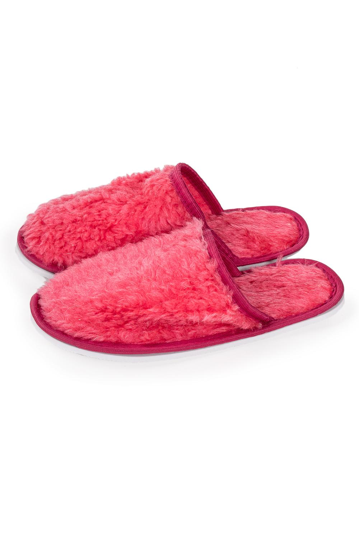 ТапочкиДомашняя обувь<br>Теплые и мягкие домашние тапочки подарят не только комфорт, но и отличное настроение после трудового дня.   В изделии использованы цвета: коралловый<br><br>По рисунку: Однотонные<br>По форме: Тапочки<br>По сезону: Всесезон<br>Размер : 35-36,36-37,38-39<br>Материал: Шерсть<br>Количество в наличии: 10
