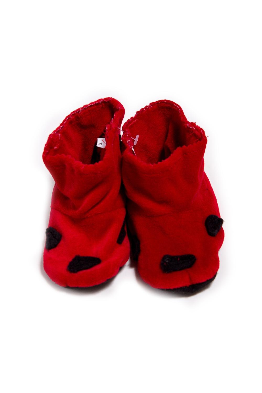 ТапочкиДомашняя обувь<br>Мягкие и удобные тапочки. Выглядеть стильно даже дома - это так легко  Порадуйте вашего малыша уютными тапочками-уггами.  Материал - флис , мягкий, теплый, неаллергенный.  В изделии использованы цвета: красный, черный<br><br>По сезону: Всесезон<br>Размер : 21,27<br>Материал: Флис<br>Количество в наличии: 2