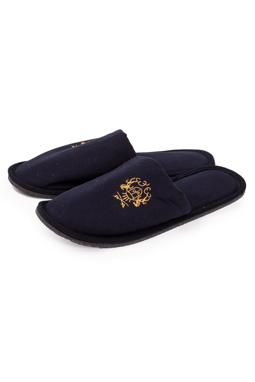 ТапочкиДомашняя обувь<br>Теплые и мягкие домашние тапочки подарят не только комфорт, но и отличное настроение после трудового дня.   В изделии использованы цвета: синий<br><br>По сезону: Всесезон<br>Размер : 42-43<br>Материал: Хлопок<br>Количество в наличии: 1