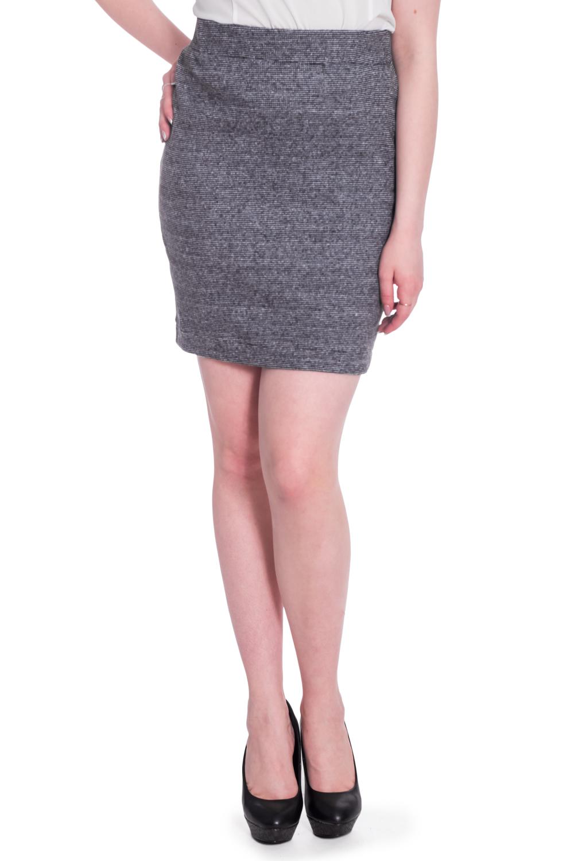 ЮбкаЮбки<br>Однотонная юбка с завышенной талией длиной до колена. Модель выполнена из эластичного трикотажа. Отличный выбор для повседневного и делового гардероба.  В изделии использованы цвета: серый  Рост девушки-фотомодели 170 см.<br><br>По длине: До колена<br>По материалу: Вискоза,Трикотаж<br>По рисунку: Однотонные<br>По сезону: Всесезон,Зима,Лето,Осень,Весна<br>По силуэту: Полуприталенные<br>По стилю: Офисный стиль,Повседневный стиль<br>По форме: Юбка-карандаш<br>По элементам: С завышенной талией<br>Размер : 42,44,46,48<br>Материал: Трикотаж<br>Количество в наличии: 4