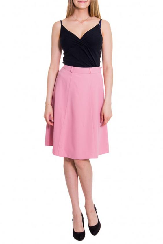 ЮбкаЮбки<br>Женская юбка с высокой талией. Модель выполнена из приятного материала. Отличный выбор для повседневного гардероба.  Цвет: розовый  Рост девушки-фотомодели 176 см<br><br>По длине: До колена<br>По материалу: Вискоза,Тканевые<br>По рисунку: Однотонные<br>По силуэту: Полуприталенные<br>По стилю: Молодежный стиль,Повседневный стиль<br>По форме: Юбка-солнце<br>По сезону: Осень,Весна<br>Размер : 44<br>Материал: Костюмная ткань<br>Количество в наличии: 3