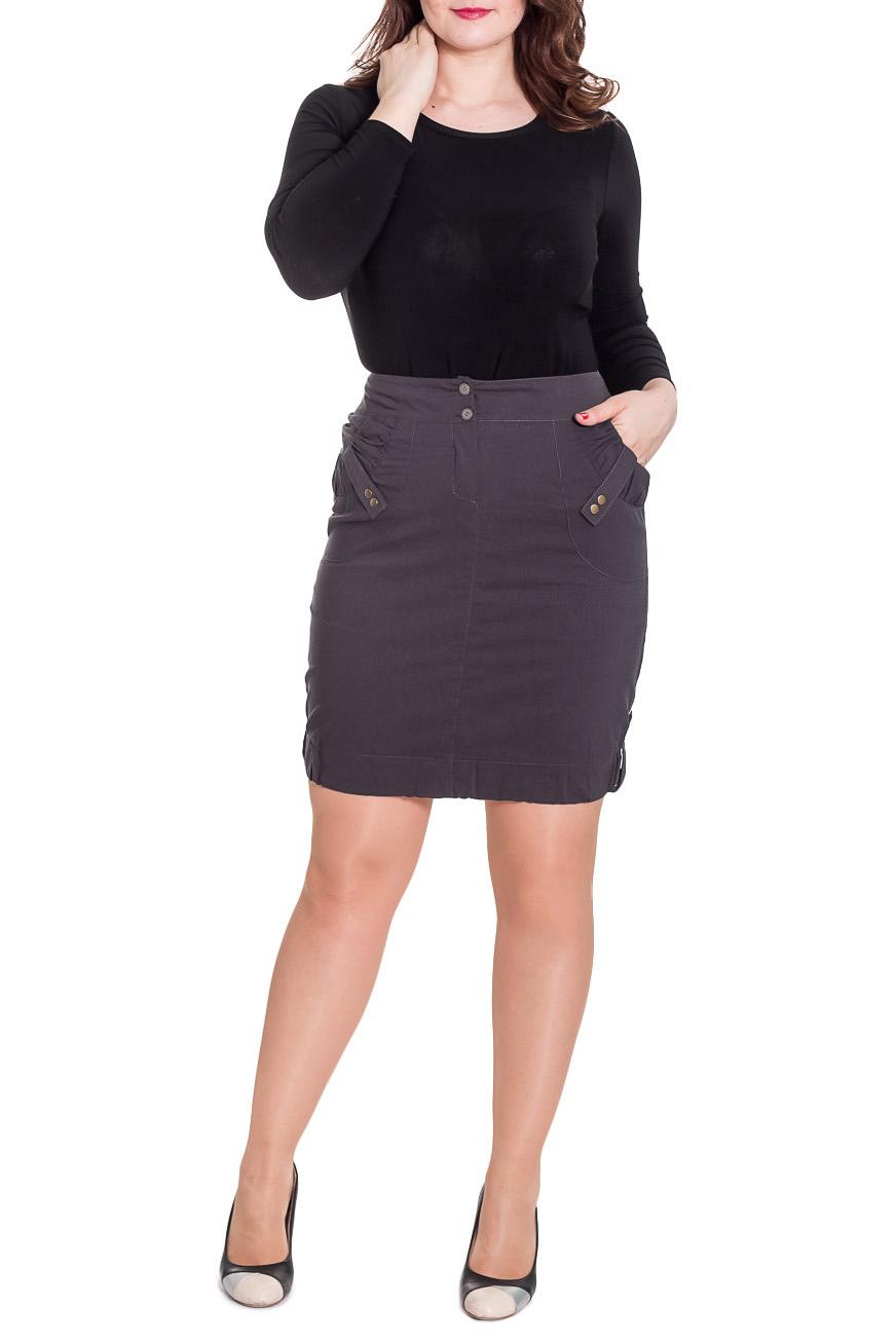 ЮбкаЮбки<br>Красивая женская юбка из плотной костюмной ткани. Отличный выбор для повседневного и делового гардероба.  Цвет: серый  Рост девушки-фотомодели 170 см<br><br>По материалу: Костюмные ткани,Тканевые<br>По образу: Город,Офис,Свидание<br>По рисунку: Однотонные<br>По силуэту: Полуприталенные<br>По стилю: Классический стиль,Офисный стиль,Повседневный стиль<br>По форме: Юбка-тюльпан<br>По элементам: С декором,С карманами,С отделочной фурнитурой<br>По длине: До колена<br>По сезону: Осень,Весна<br>Размер : 46<br>Материал: Костюмно-плательная ткань<br>Количество в наличии: 1
