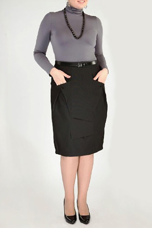 ЮбкаЮбки<br>Женская юбка из плотной костюмной ткани. Модель украшена карманами и драпировкой. Отличный выбор для повседневного гардероба. Юбка без пояса.  Цвет: черный<br><br>По материалу: Тканевые<br>По рисунку: Однотонные<br>По сезону: Весна,Осень<br>По силуэту: Полуприталенные<br>По элементам: С декором,С завышенной талией<br>По стилю: Повседневный стиль<br>По длине: Ниже колена<br>Размер : 46,48<br>Материал: Костюмно-плательная ткань<br>Количество в наличии: 5