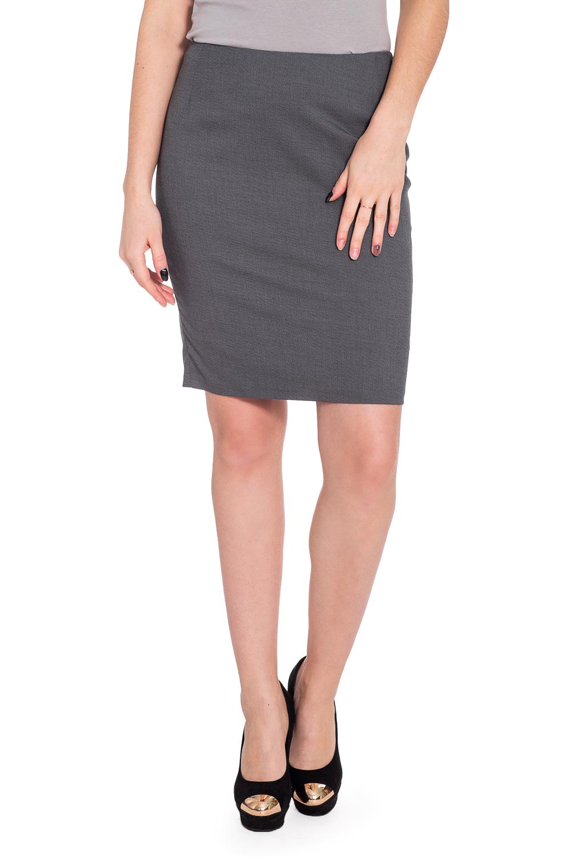 ЮбкаЮбки<br>Строгая лаконичная юбка карандаш плотного облегания, из эластичной костюмной ткани, длиной выше колена. Верх юбки на обтачке. Сзади шлица и застежка на потайную молнию.   Длина юбки 50 – 53 см  Цвет: серый  Рост девушки-фотомодели 173 см.<br><br>Застежка: С молнией<br>По длине: До колена<br>По материалу: Костюмные ткани,Тканевые<br>По рисунку: Однотонные<br>По сезону: Весна,Зима,Лето,Осень,Всесезон<br>По силуэту: Приталенные<br>По стилю: Классический стиль,Офисный стиль,Повседневный стиль<br>По форме: Юбка-карандаш<br>По элементам: С разрезом<br>Разрез: Короткий,Шлица<br>Размер : 44<br>Материал: Костюмная ткань<br>Количество в наличии: 1