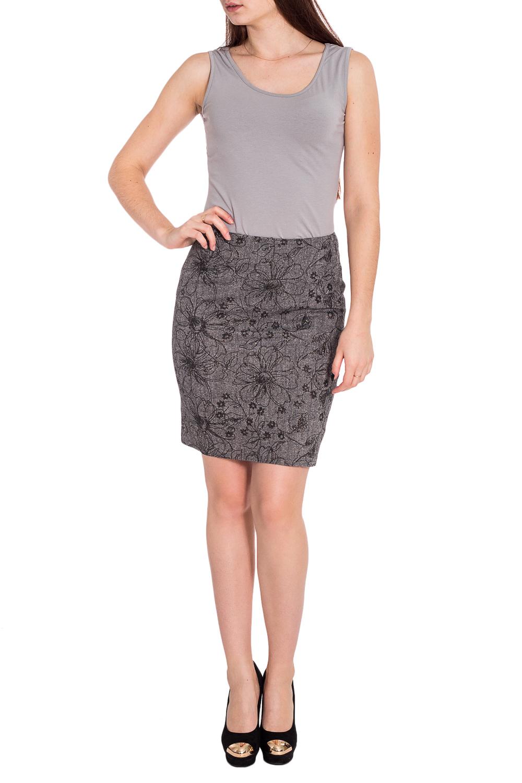ЮбкаЮбки<br>Строгая лаконичная юбка карандаш плотного облегания, из эластичной костюмной ткани, длиной выше колена. Верх юбки на обтачке. Сзади шлица и застежка на потайную молнию.   Длина юбки 50 – 53 см  Цвет: серый  Рост девушки-фотомодели 173 см.<br><br>Застежка: С молнией<br>По длине: До колена<br>По материалу: Костюмные ткани,Тканевые<br>По рисунку: Растительные мотивы,С принтом,Цветные,Цветочные<br>По сезону: Весна,Зима,Лето,Осень,Всесезон<br>По силуэту: Приталенные<br>По стилю: Повседневный стиль<br>По форме: Юбка-карандаш<br>По элементам: С декором,С разрезом<br>Разрез: Короткий,Шлица<br>Размер : 44<br>Материал: Костюмная ткань<br>Количество в наличии: 1