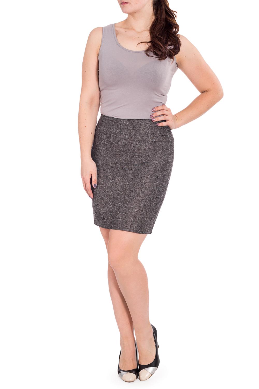 ЮбкаЮбки<br>Строгая лаконичная юбка карандаш плотного облегания, из эластичной костюмной ткани, длиной выше колена. Верх юбки на обтачке. Сзади шлица и застежка на потайную молнию.   Длина юбки 50 – 53 см  Цвет: серый  Рост девушки-фотомодели 180 см.<br><br>Застежка: С молнией<br>По длине: До колена<br>По материалу: Костюмные ткани,Тканевые<br>По рисунку: Однотонные<br>По сезону: Весна,Зима,Лето,Осень,Всесезон<br>По силуэту: Приталенные<br>По стилю: Классический стиль,Офисный стиль,Повседневный стиль<br>По форме: Юбка-карандаш<br>По элементам: С разрезом<br>Разрез: Короткий,Шлица<br>Размер : 48<br>Материал: Костюмная ткань<br>Количество в наличии: 1