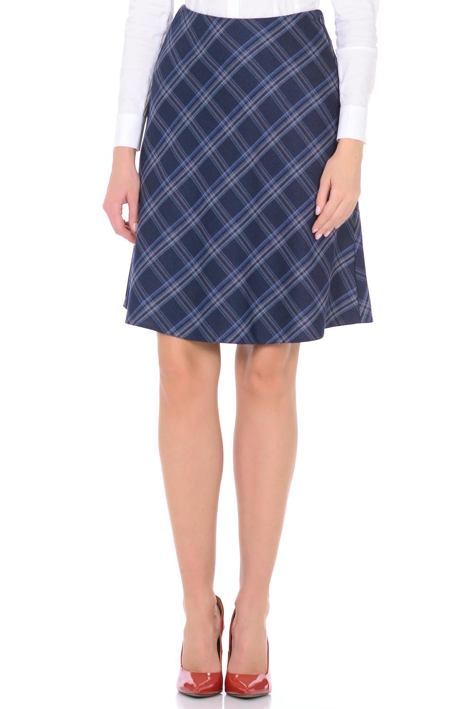 ЮбкаЮбки<br>Женская юбка, расклешенная от пояса к низу, на подкладке с обтачным поясом. Застежка расположена по боковому шву на потайную тесьму молнию. Расположение разноцветных клеток по кассой диагонали, простота, а также идеальная посадка, делает данную модель незаменимой в Вашем гардеробе.  Длина изделия 60 см.  В изделии использованы цвета: синий, голубой  Параметры размеров: 40 размер - обхват груди 84 см., обхват талии 62 см., обхват бедер 88 см. 42 размер - обхват груди 88 см., обхват талии 66 см., обхват бедер 92 см. 44 размер - обхват груди 92 см., обхват талии 70 см., обхват бедер 96 см. 46 размер - обхват груди 96 см., обхват талии 74 см., обхват бедер 100 см. 48 размер - обхват груди 100 см., обхват талии 78 см., обхват бедер 104 см. 50 размер - обхват груди 104 см., обхват талии 82 см., обхват бедер 108 см. 52 размер - обхват груди 108 см., обхват талии 86 см., обхват бедер 112 см. 54 размер - обхват груди 112 см., обхват талии 90 см., обхват бедер 116 см. 56 размер - обхват груди 116 см., обхват талии 94 см., обхват бедер 120 см. 58 размер - обхват груди 120 см., обхват талии 100 см., обхват бедер 126 см. 60 размер - обхват груди 124 см., обхват талии 105 см., обхват бедер 131 см. 62 размер - обхват груди 128 см., обхват талии 110 см., обхват бедер 136 см. 64 размер - обхват груди 132 см., обхват талии 115 см., обхват бедер 141 см. 66 размер - обхват груди 136 см., обхват талии 120 см., обхват бедер 146 см.<br><br>По длине: До колена<br>По материалу: Костюмные ткани,Тканевые<br>По рисунку: В клетку,С принтом,Цветные<br>По сезону: Весна,Зима,Лето,Осень,Всесезон<br>По силуэту: Полуприталенные<br>По стилю: Офисный стиль,Повседневный стиль<br>По форме: Юбка-трапеция<br>По элементам: С завышенной талией<br>Размер : 44,46,48,50,52,54<br>Материал: Костюмная ткань<br>Количество в наличии: 6