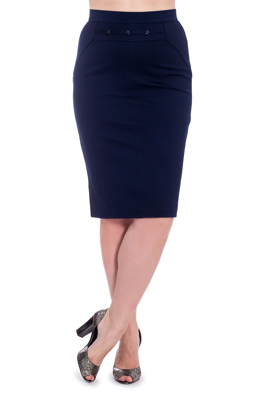ЮбкаЮбки<br>Однотонная женская юбка ниже колена. Модель выполнена из приятного материала. Пояс декорирован пуговицами. Отличный выбор для повседневного и делового гардероба.  В изделии использованы цвета: синий  Параметры размеров: 44 размер - обхват груди 84 см., обхват талии 72 см., обхват бедер 97 см. 46 размер - обхват груди 92 см., обхват талии 76 см., обхват бедер 100 см. 48 размер - обхват груди 96 см., обхват талии 80 см., обхват бедер 103 см. 50 размер - обхват груди 100 см., обхват талии 84 см., обхват бедер 106 см. 52 размер - обхват груди 104 см., обхват талии 88 см., обхват бедер 109 см. 54 размер - обхват груди 110 см., обхват талии 94,5 см., обхват бедер 114 см. 56 размер - обхват груди 116 см., обхват талии 101 см., обхват бедер 119 см. 58 размер - обхват груди 122 см., обхват талии 107,5 см., обхват бедер 124 см. 60 размер - обхват груди 128 см., обхват талии 114 см., обхват бедер 129 см.  Ростовка изделия 168 см.  Рост девушки-фотомодели 180 см<br><br>По длине: Ниже колена<br>По материалу: Вискоза,Тканевые<br>По рисунку: Однотонные<br>По сезону: Весна,Зима,Лето,Осень,Всесезон<br>По силуэту: Приталенные<br>По стилю: Классический стиль,Офисный стиль,Повседневный стиль<br>По форме: Юбка-карандаш<br>По элементам: С разрезом<br>Разрез: Короткий,Шлица<br>Размер : 50,52,60<br>Материал: Костюмная ткань<br>Количество в наличии: 3