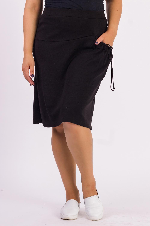Юбка юбка oodji ultra цвет черный 14102007 47508 2900n размер xxl 52