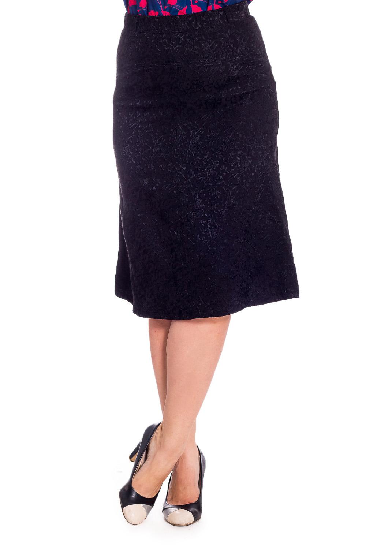 ЮбкаЮбки<br>Эффектная женская юбка quot;годеquot;, выполнена из приятного материала. Отличный выбор для повседневного гардероба.  В изделии использованы цвета: черный  Рост девушки-фотомодели 180 см<br><br>По длине: Ниже колена<br>По материалу: Вискоза,Жаккард<br>По рисунку: Однотонные,Фактурный рисунок<br>По сезону: Весна,Зима,Лето,Осень,Всесезон<br>По силуэту: Приталенные<br>По стилю: Повседневный стиль<br>По форме: Юбка-годе<br>По элементам: С завышенной талией<br>Размер : 48,50<br>Материал: Жаккард<br>Количество в наличии: 2