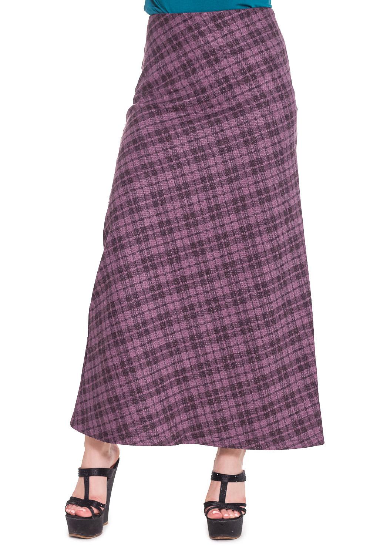 ЮбкаЮбки<br>Удлиненная юбка из приятного материала. Отличный выбор для повседневного гардероба.  Цвет: розовый и др.  Рост девушки-фотомодели 170 см.<br><br>По длине: Макси<br>По материалу: Тканевые,Хлопок<br>По рисунку: Геометрия,Цветные,С принтом,В клетку<br>По сезону: Весна,Осень<br>По силуэту: Свободные<br>По стилю: Повседневный стиль<br>По элементам: С завышенной талией<br>По форме: Юбка-трапеция<br>Размер : 44<br>Материал: Костюмно-плательная ткань<br>Количество в наличии: 1
