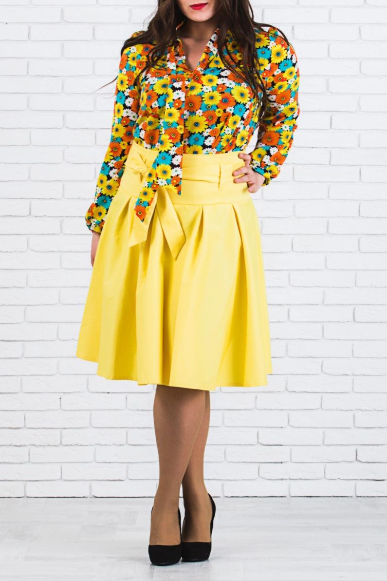 ЮбкаЮбки<br>Модная юбка длиной ниже колена. Модель с завышенной талией и выполнена из плотной хлопковой ткани. Юбка станет отличным дополнение в Вашем гардеробе Юбка без пояса.  Цвет: желтый  Ростовка изделия 170 см.<br><br>По длине: Ниже колена<br>По материалу: Хлопок<br>По рисунку: Однотонные<br>По стилю: Нарядный стиль,Повседневный стиль,Летний стиль<br>По силуэту: Полуприталенные<br>По форме: Юбка-трапеция<br>По элементам: Со складками<br>По сезону: Лето<br>Размер : 50<br>Материал: Хлопок<br>Количество в наличии: 1